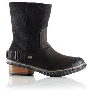 Sorel Slimshortie Leather Boot - Size 8
